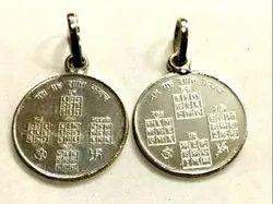 Silver Navgrah Shanti Pendant