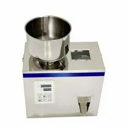 Small Digital Grains And Powder Weight Filling Machine