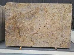 Brown Zubaran Polished Granite Slab, For Flooring, Thickness: 20mm