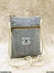 Stylish Exclusive Hemp Sling Bags