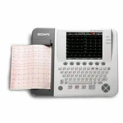 Edan Ecg Machine, SE-1200, Number Of Channels: 12 Channels