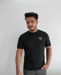 La Estiloso Mens Cotton T Shirt, Size: Medium