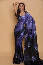 Marina Indian Designer Saree, With Blouse Piece
