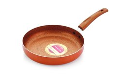 Nirlon Non-Stick Fry Pan Ultimate Induction Base (With Steel  LiD)