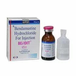 Natco Pharma Ltd Bendit 100mg Injection, Storage: 10-30 Deg C, Packaging: Glass Bottle,Box