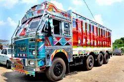 Full Truck Load Service, 10 & 12 Tyres Trucks