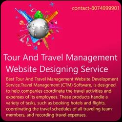 PHP/JavaScript Responsive Tour And Travel Management Website Designing Service, in India, With 24*7 Support
