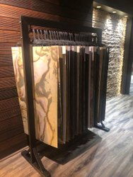 Stone Veneer Display Stand