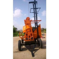 Concrete Mixer Machine With Lifter