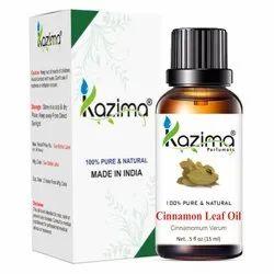 Kazima 100% Pure Natural & Undiluted Cinnamon Leaf Oil