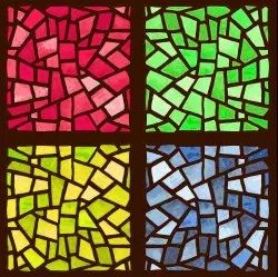Print Decorative Wall Stained Glass, For Decoration, Thickness: 10mm