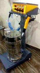 Industrial Powder Coating Machine, Customar Choice, Automation Grade: Manual