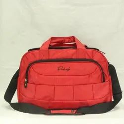 Polyester Red PTK- 902 Travel Bag, Size/Dimension: 13x20x12 Inch