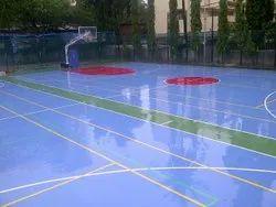 Outdoor PU Tennis Court Flooring