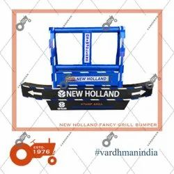 New Holland Tractor Fancy Grill Bumper