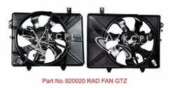 Black Plastic RAD GTZ Fan Parts