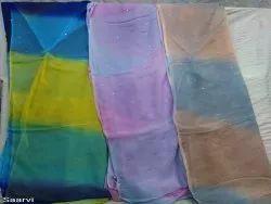 Saarvi Plain Designer Saree For Party, Without blouse piece, 5.5 m (separate blouse piece)