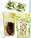 Common Printed Oval Window Stand Up Pouches