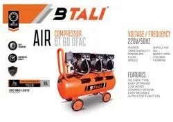 Oil Free Air Compressor 60 ltr