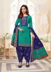 Patidar Mills Ladies Designer Dress Material