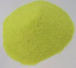 L. Yellow Colour Aquarium sand
