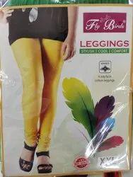 Stretchable Churidar Ladies Cotton Lycra Leggings, Size: XXL