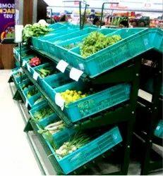 Fruits and Vegetable Display Racks
