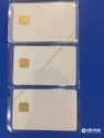 Double Sided Sle4428/issi 4428 Contact Ic Card For Inkjet And Thermal Printer, Shape: Rectangular
