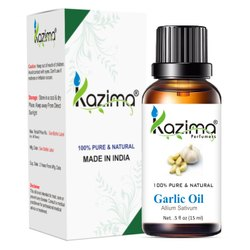 KAZIMA 100% Pure Natural & Undiluted Garlic Oil