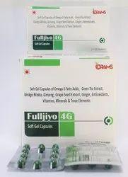 Omega 3,6,9 with EPA DHA Ginkoba and Vitamins Capsules