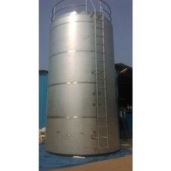 Vertical Milk Storage Silo