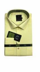 Real Time Cotton Mens Collar Neck Formal Shirt, Handwash, Size: Xxl