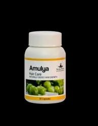 Capsule Amulya Hair Care, Type Of Packaging: Bottle, Packaging Size: 30 Capsules