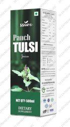 Ssure Panch Tulsi Juice for Anti-Oxident & Anti-Inflammatory