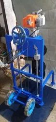 Trolley Mounted Earth Auger