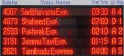 Railway Display Board