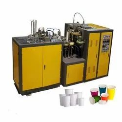 High Speed Disposable Cup Making Machine