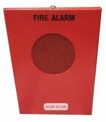 M S Body Red Agni Scan Fire Alarm