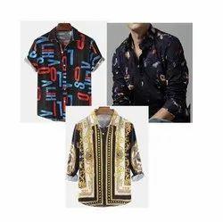 Lafar Men's Printed Shirt