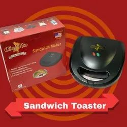 Sandwich Toaster Chef Pro Black