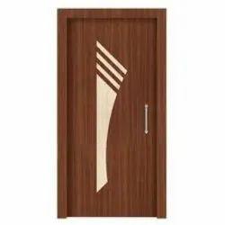 Nirmax Wooden Pine Wood Flush Door, Gurjan Finish, Thickness: 40 Mm
