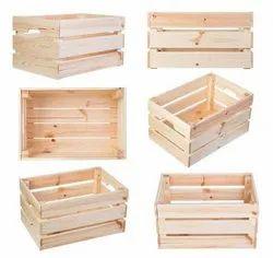 Wooden Wine Crate