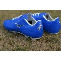 Men Blue And White Anza Virus Football Shoes