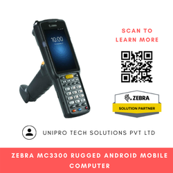 Zebra MC3300 Rugged Android Mobile Computer
