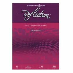 White Reflection Paper FS - 70 GSM, For Printing