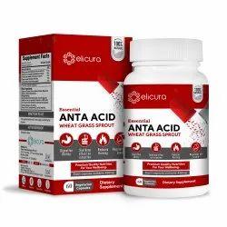 Elicura Anta Acid Herbal Capsules (60 Veg Capsules)