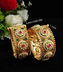Gold Traditional Bridal Bangles Wedding Jewellery
