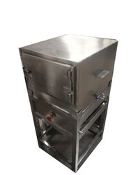 308 Stainless Steel Idli Steamer, Capacity: 60 Piece, Size/Dimension: 20 X 20 X 24 Inches