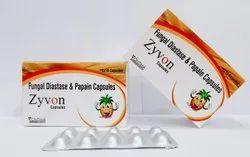 ZYVON CAPUSLE (FUNGAL DIASTASE & PAPAIN CAPSULE)