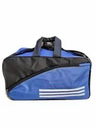 Blue Polyester Travel Bag, Size/Dimension: 18 X 13 X 7 Inch ( H X Wx D)